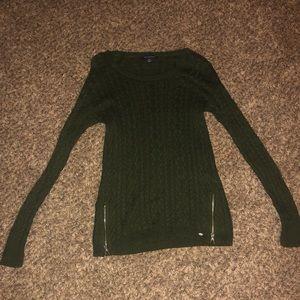 Green American Eagle sweater